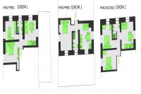 mappa in pianta casa Europa a Socchieve
